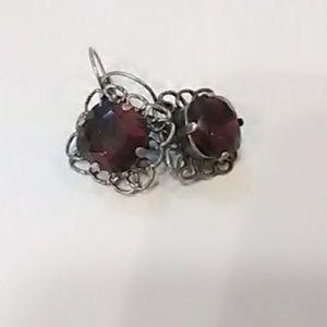 Sabika inspired golf size earrings